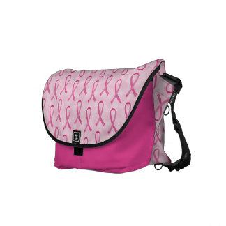Pink Ribbon Breast Cancer Awareness Bag Messenger Bag