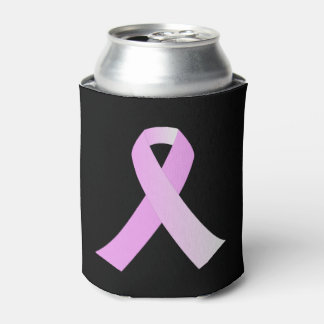 Pink Ribbon Breast Cancer Awareness Can Cooler