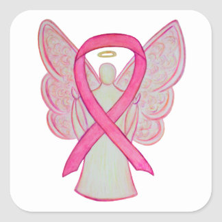 Pink Ribbon Breast Cancer Awareness Decal Stickers
