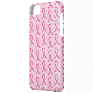 Pink Ribbon Breast Cancer Awareness iPhone 5 Case