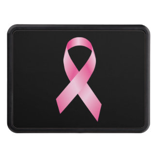 Pink Ribbon - Breast Cancer Awareness Trailer Hitch Cover