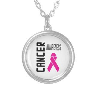 Pink Ribbon Cancer Awareness Pendant