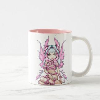 """""""Pink Ribbon Fairy"""" Mug"""
