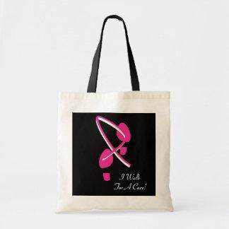 Pink Ribbon Footprints I Walk For A Cure