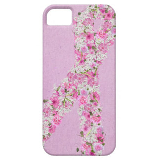 Pink Ribbon for Breast Cancer survivor Case For The iPhone 5