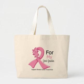 Pink Ribbon For My Great-Grandma - Breast Cancer Bag