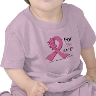 Pink Ribbon For My Wife - Breast Cancer Tees