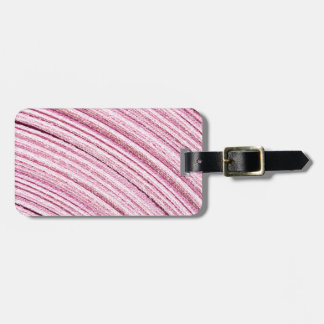 Pink Ribbon Macro Bag Tag