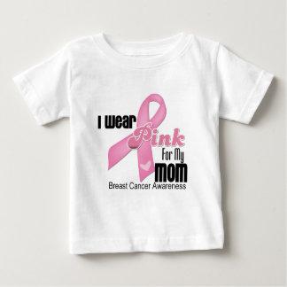 Pink Ribbon Mom Breast Cancer Shirts