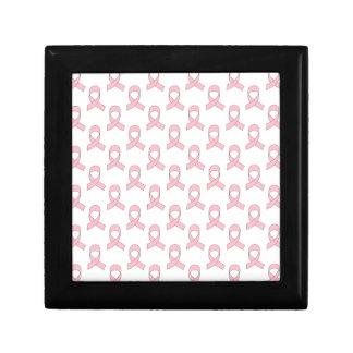 Pink Ribbon Pattern Gift Box