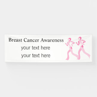 Pink Ribbon Runners Banner