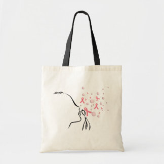 Pink Ribbon Set Me Free Tote Bag
