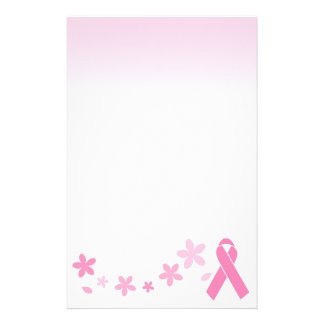Pink Ribbon Stationery