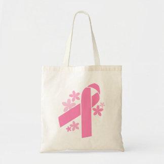 Pink Ribbon Tote Bag