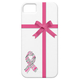 PINK Ribbons and Bow: Awareness iPhone 5 Case