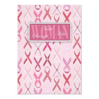 Pink Ribbons Invitation