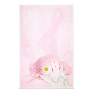 Pink Ribbons Stationery