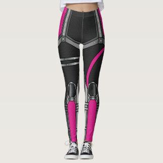 Pink Robot Armour Leggings