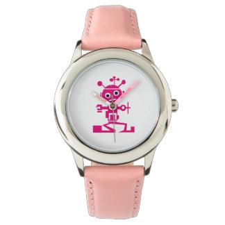 Pink Robot watch