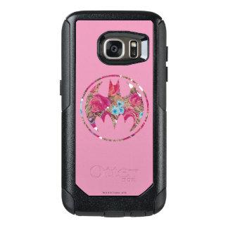 Pink Rose Bat Signal OtterBox Samsung Galaxy S7 Case