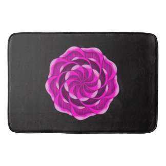 Pink Rose Bath Mat