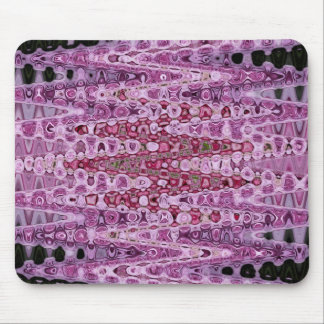 Pink Rose Beads Jan 2013 Mouse Pad