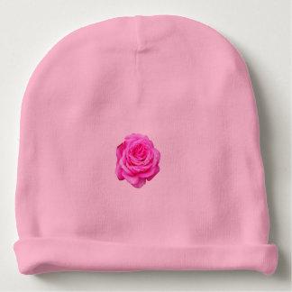 Pink Rose Bloom, Baby Beanie