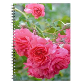 Pink  Rose Bouquet Notebooks