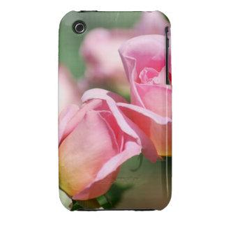 Pink Rose Bud  Blackberry Curve Case iPhone 3 Case