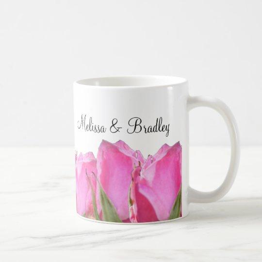 Pink Rose Bud Mug