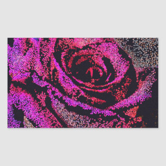 Pink Rose by Camille K Sticker