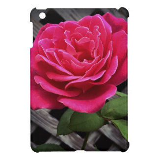 Pink Rose Case For The iPad Mini