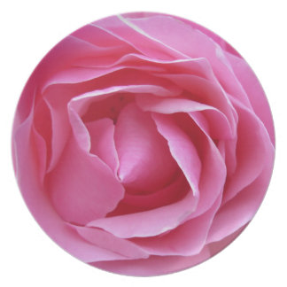 Pink Rose Design Products Plate