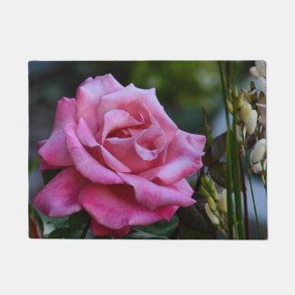 PINK ROSE DOORMAT