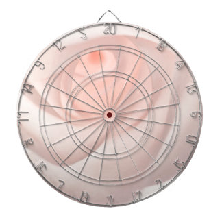 Pink Rose Eye Dartboard