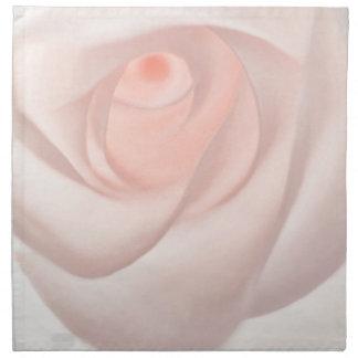 Pink Rose Eye Napkin