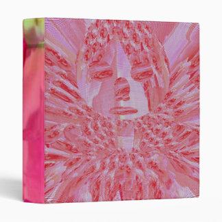 Pink Rose Fairy Vinyl Binders