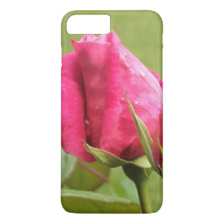 Pink Rose Floral iPhone 7 Plus Case