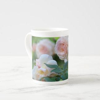 Pink Rose Garden China Tea Cup