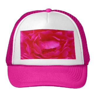 Pink Rose Hat - Customizable Trucker Hat