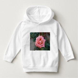 pink rose hoodie