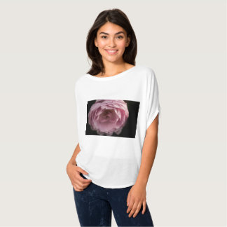 Pink rose in the darkness T-Shirt