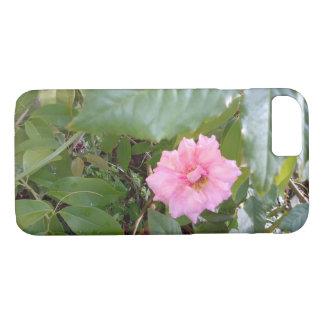 pink rose iPhone 8/7 case