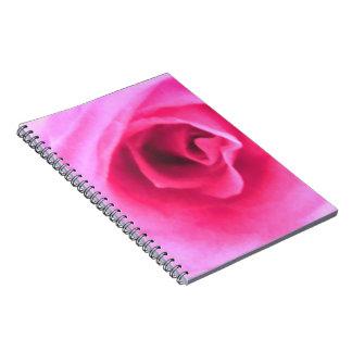 Pink Rose Journal Notebooks