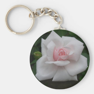 Pink Rose Keychains