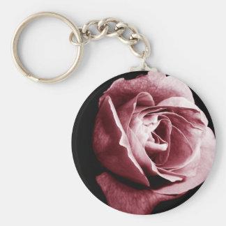 Pink Rose Keychains