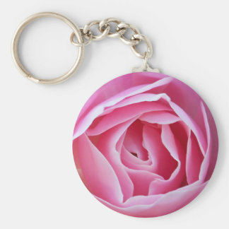 Pink Rose Key Chain
