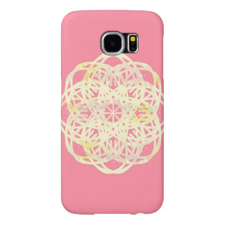 Pink Rose Lace Flower Phone Case