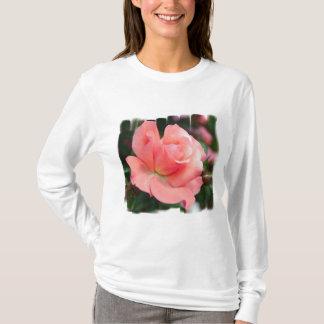 Pink Rose Ladies T-Shirt