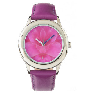 Pink Rose Mandala Watch
